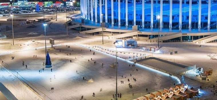 Каток на стадионе Нижний Новгород