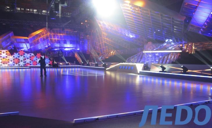 Программа «Танцы на льду»